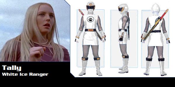Tally Merritt the White Ninja Storm Ranger by DisneyBrony2012