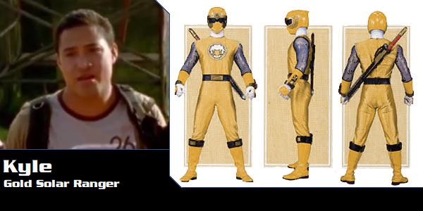 Kyle Bryant the Gold Ninja Storm Ranger by DisneyBrony2012