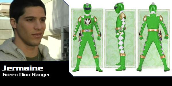 Jermaine Powell the Green Dino Thunder Ranger by DisneyBrony2012