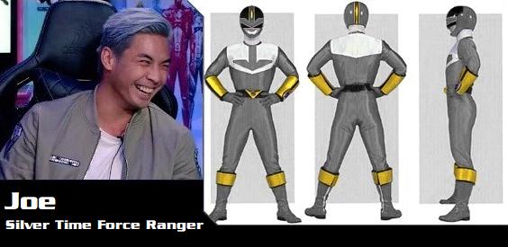 Joe the Silver Time Force Ranger by DisneyBrony2012