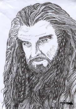 Thorin Oakenshield from The Hobbit