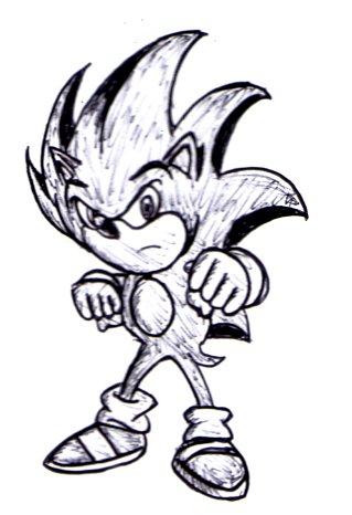 77 Gambar Sonic Keren Hitam Putih Gratis
