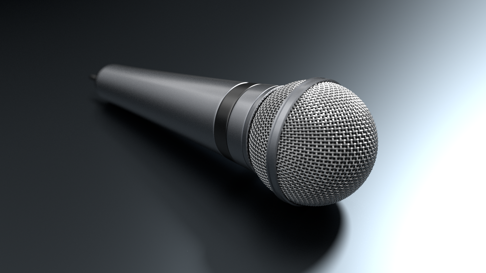 3D Model - Microphone 01 by fabioskol