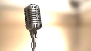 3D Model - Microphone 03