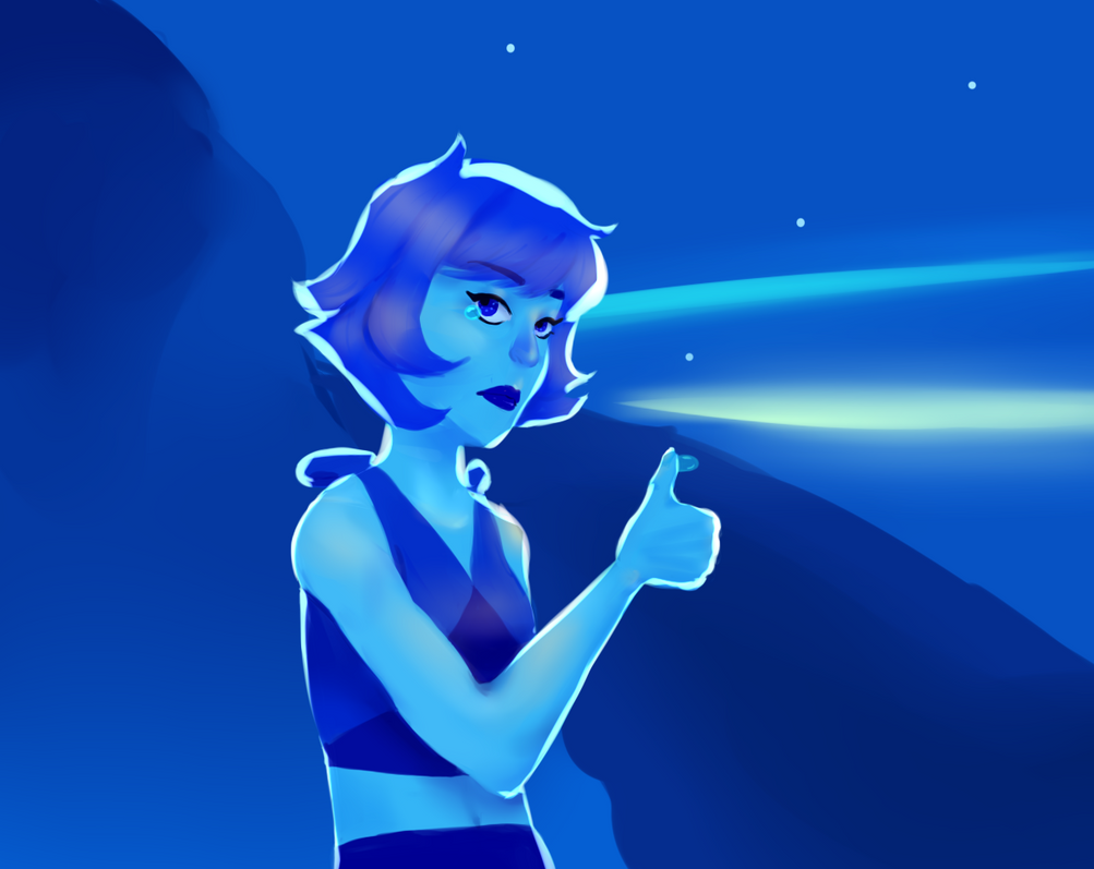 Kinda quick thing.Character is Lapis Lazuli (Steven Universe).