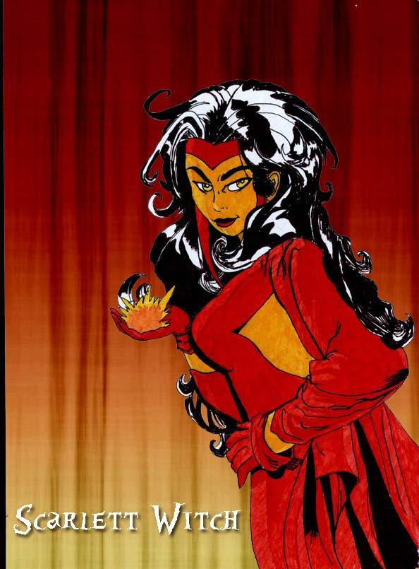 Scarlett Witch by Xantra