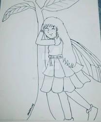 Inktober 2018 Fairy