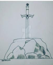 Inktober 2018 Excalibur