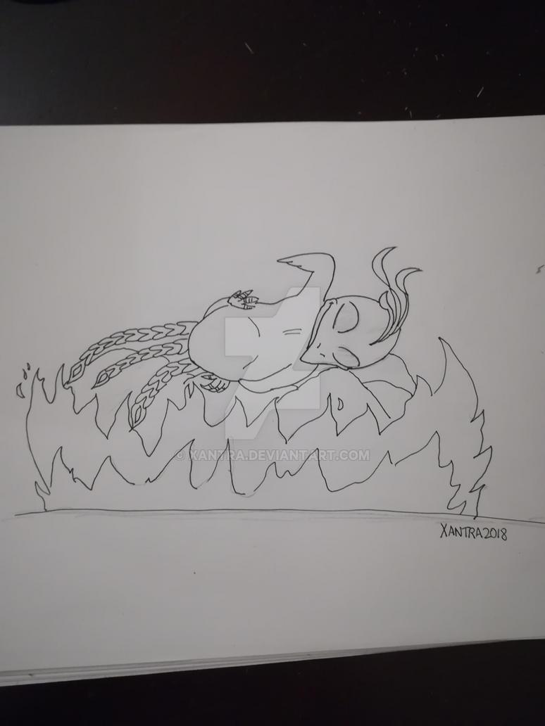Little Phoenix by Xantra
