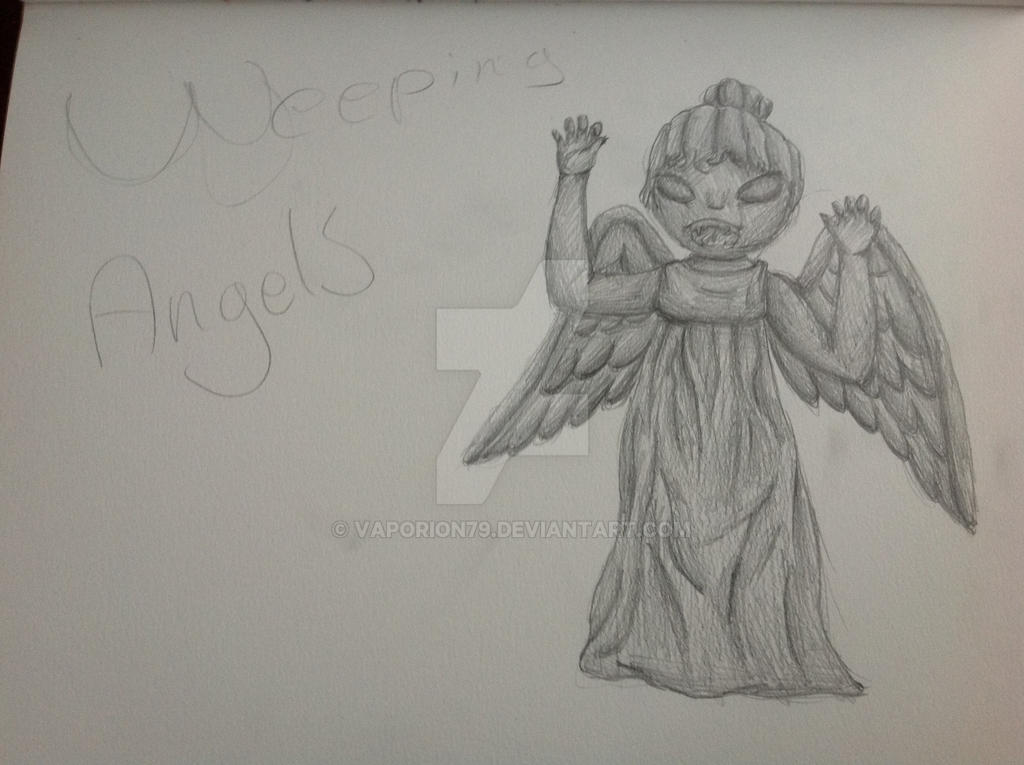 Chibi weeping angel by vaporion79 on DeviantArt