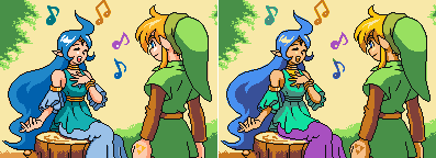 Oracle of Ages - Recolor by thequeenprawn