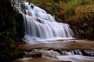 Purakaunui Falls by 2binspired