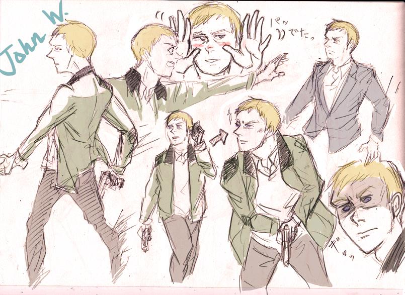 John Watson by Radculas