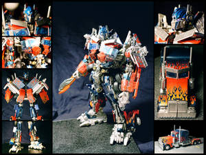 Custom ROTF Optimus Prime