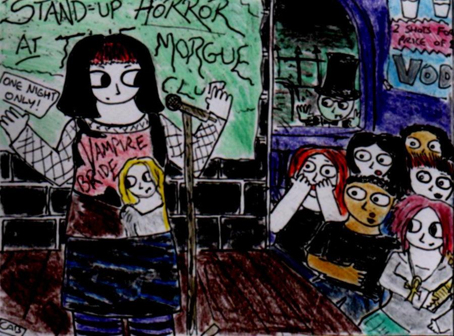 Stand-Up Horror by PekoeBlaze