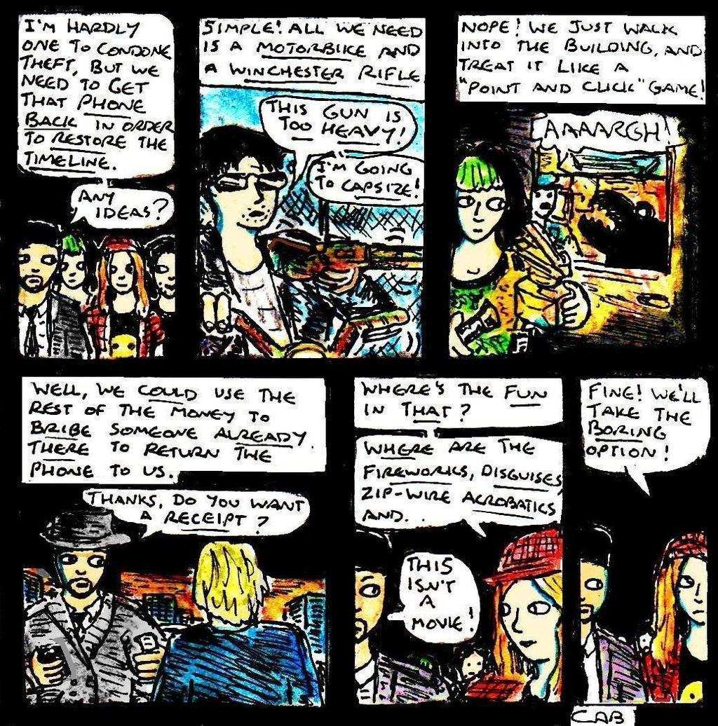 Time Travel Webcomic Manago