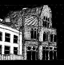 Aberystwyth - Old College Gothic