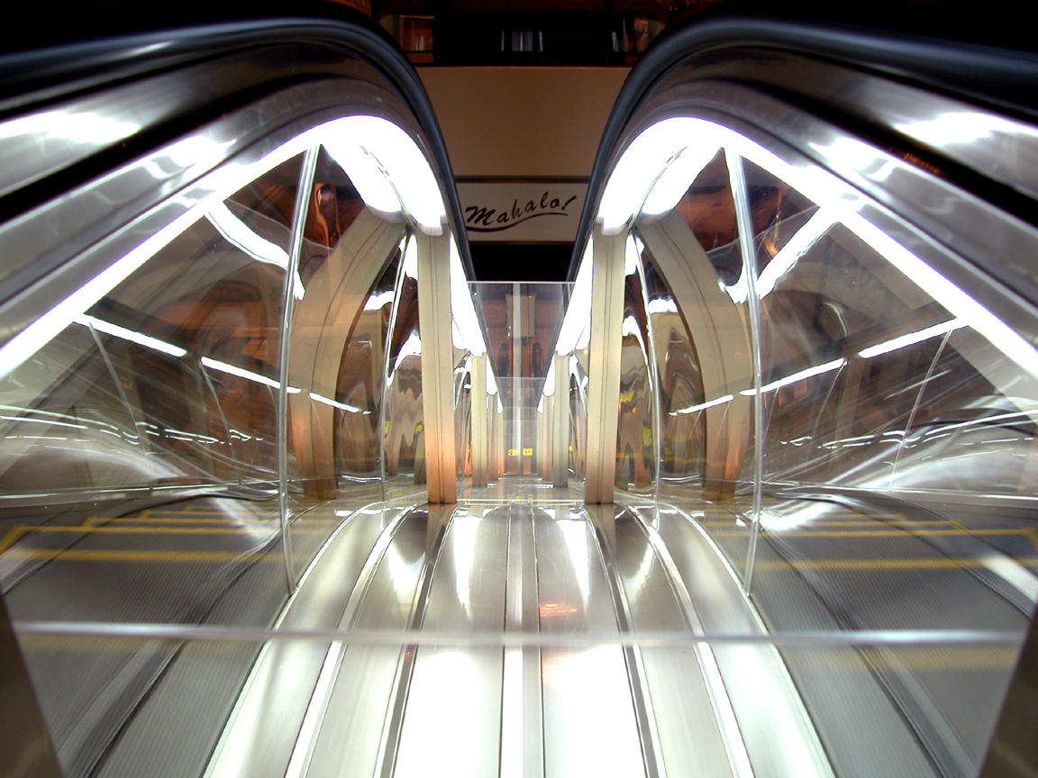 Mahalo Escalator by truazn637