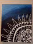 Mandala Painting by X3snowangel