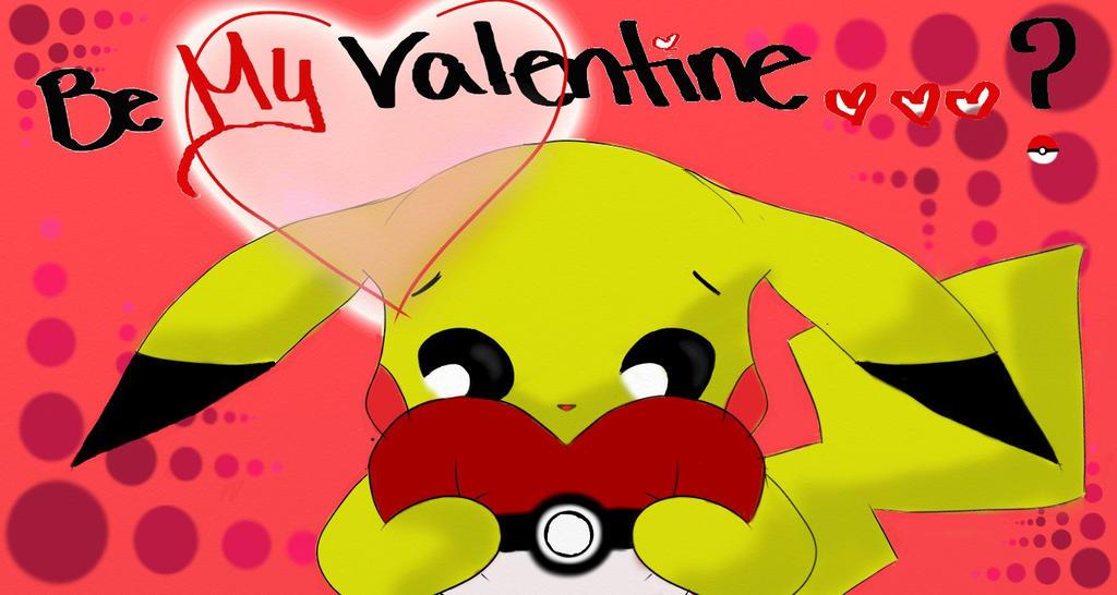 Pikachu Valentine by Kooki3s