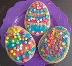 My three Easter cookies