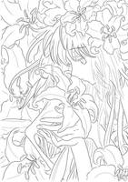 Spring - Lineart by Moonlight-Kaon