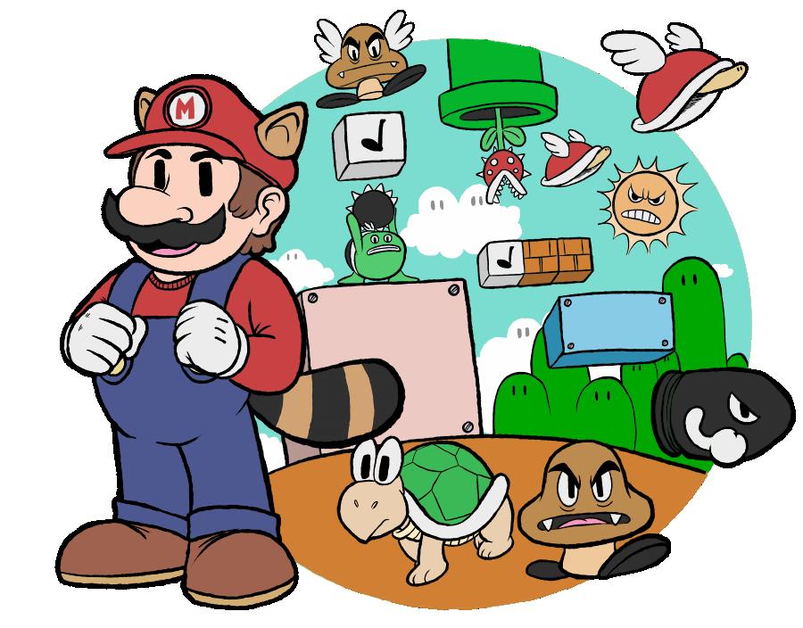 Goty Illustrations 1 Super Mario Bros 3 By Squaregate On Deviantart
