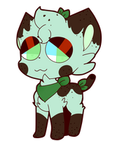 Bubble tea Dog Adopt CLOSED by Cosmic-Sailor