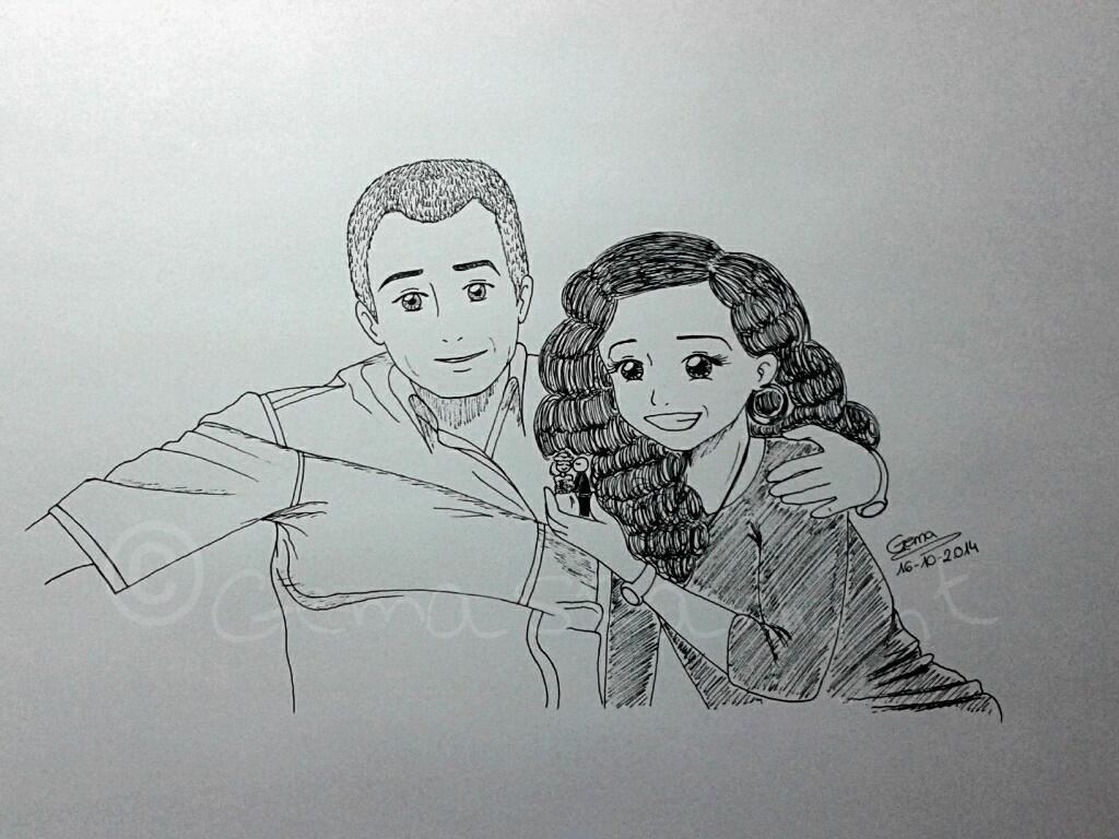 Happy couple by GemaStarlight