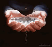 water heart by rokaaazz
