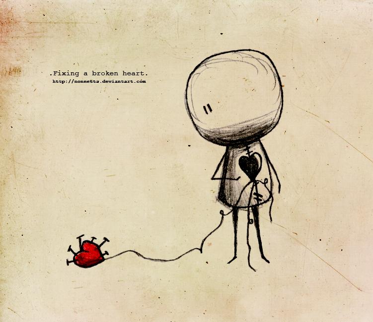 Broken Heart By Rokaaazz