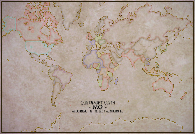 steampunk map wallpaper - photo #19