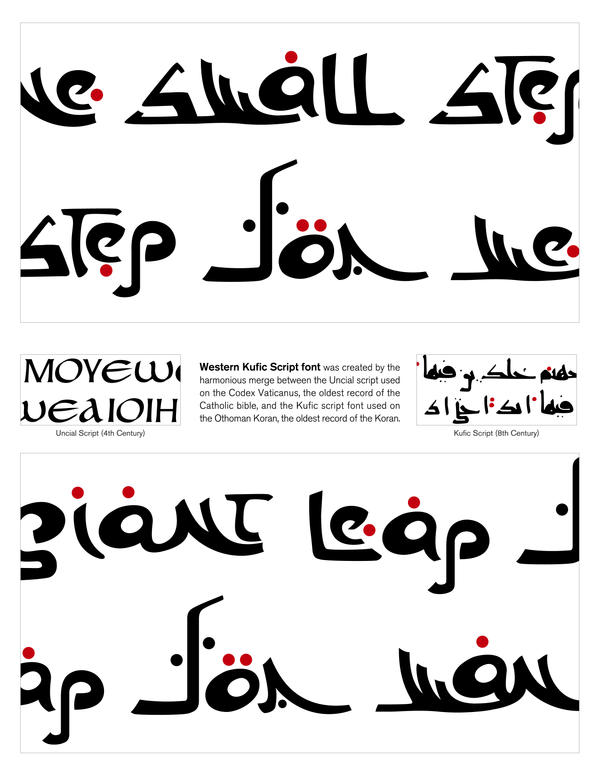 Western kufic script font by hdmoser on deviantart