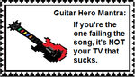 Guitar Hero Mantra stamp by elfofcourage