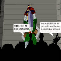 OoT's Link-MST 3k style by TheHylianHaunter