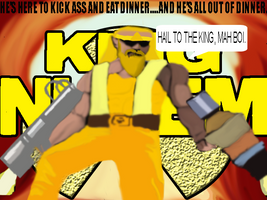 King Nukem XD by TheHylianHaunter