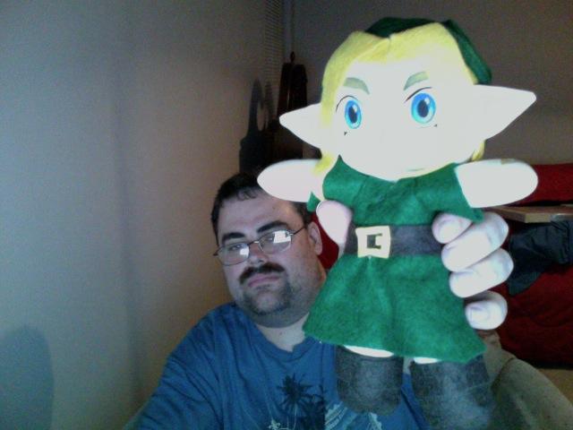 Link plush by elfofcourage