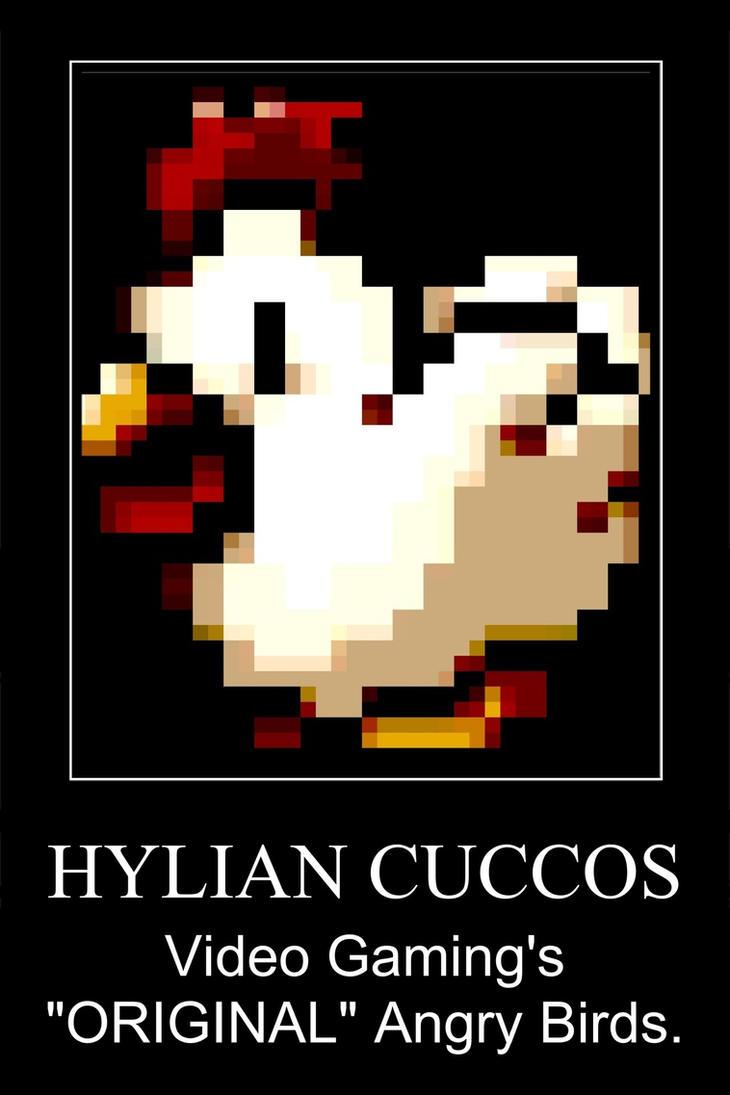Cuccos Motivational XD by elfofcourage