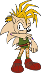 SU Manic recolored as SF Guile by TheHylianHaunter