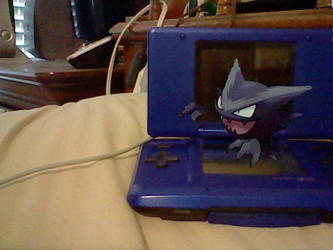On my DS: Haunter by TheHylianHaunter