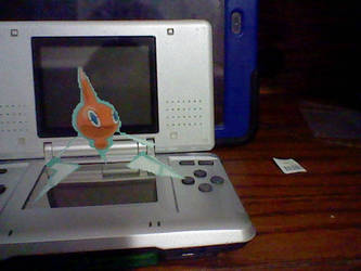 On my DS: Rotom by TheHylianHaunter