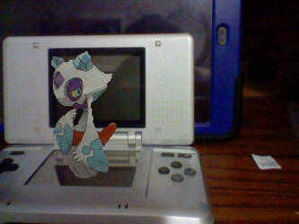 On my DS: Froslass by TheHylianHaunter