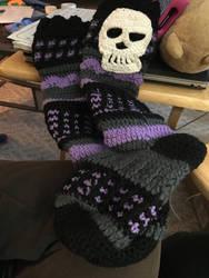 Crochet Socks for Sale/Commission!