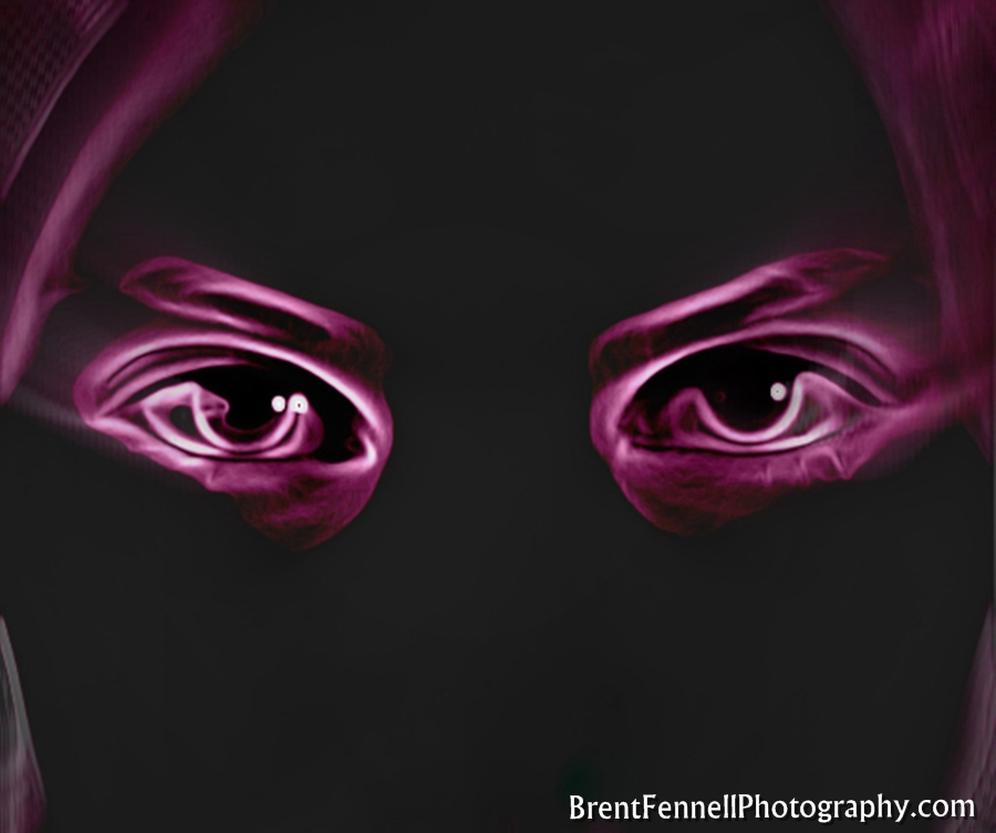 abstract neon eyes - photo #36
