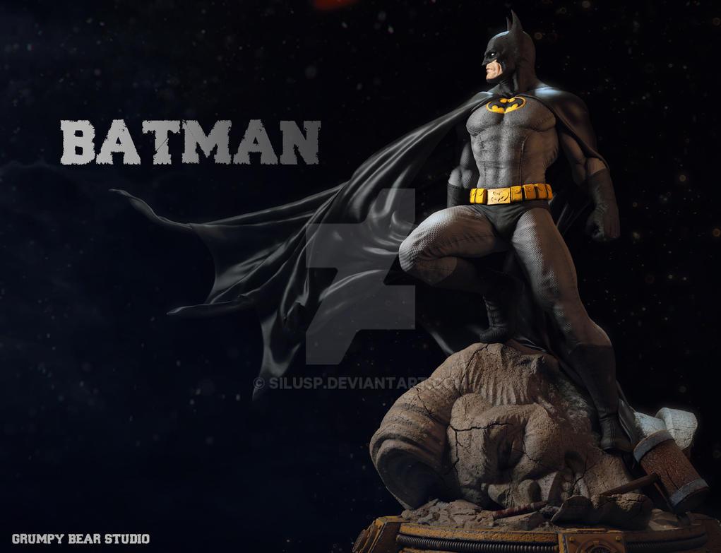 Batman by SiluSP