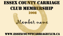 2008 carriage club membership by BloodStainedSilk