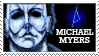 Michael Myers Stamp by BigYellowAlien