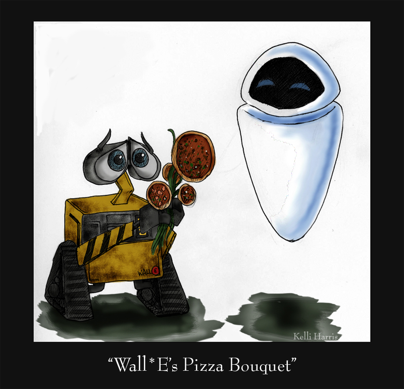 WallE's Pizza Bouquet by Neverdiex