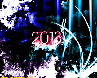 2013 Abstract Wallpaper by iZePol