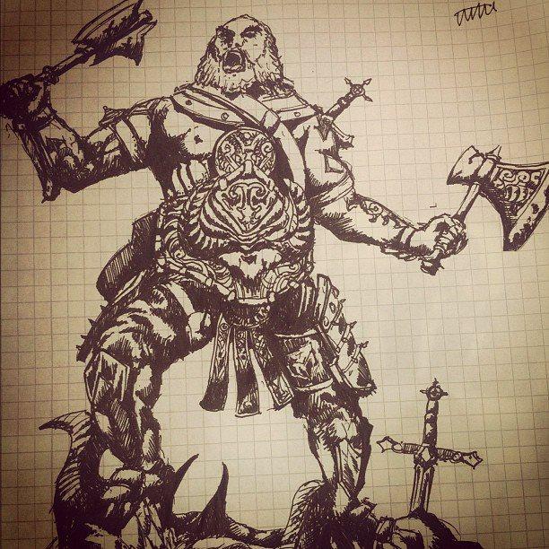 Barbarian by AzArm222